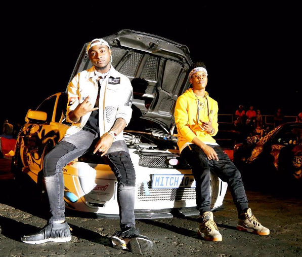 Watch Davido & Nasty C Prove That They Are The Coolest Kids In Africa dav