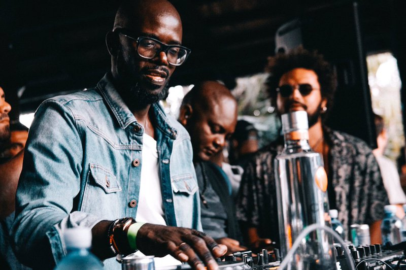 DAY 2: SA Fashion Week Vibes! dj black coffee