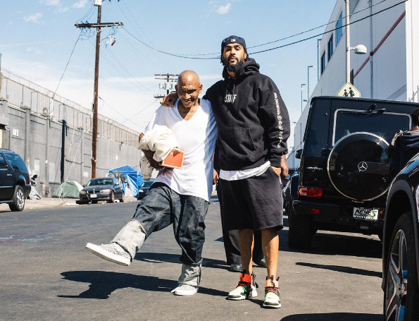 Watch Jerry Lorenzo & His Staff Hand Out Fear of God Merch To The Homeless [SneakPeak] fear