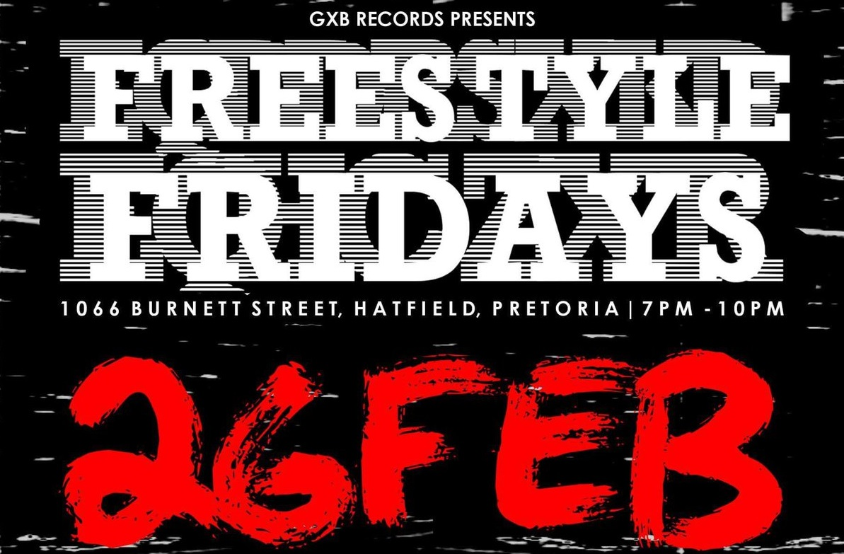 GXB Records Present The 3rd Edition Of Their Freestyle Fridays galx 1