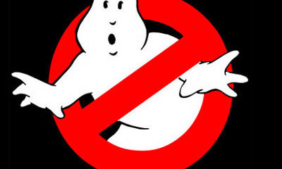 The Gripe With The Skeleton Hand ghostbusters logo 400x240