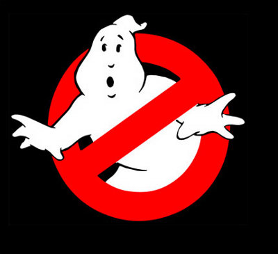 The Gripe With The Skeleton Hand ghostbusters logo