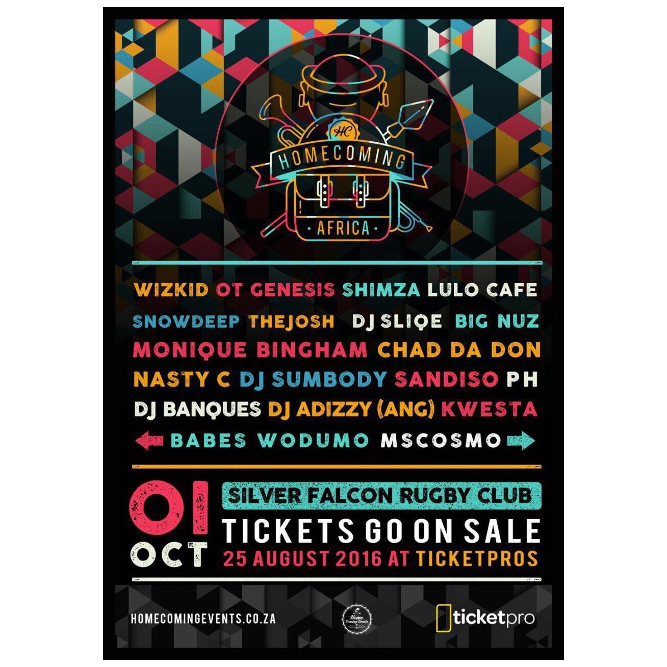 HomeComing Events Launch #HomeComingAfrica hm