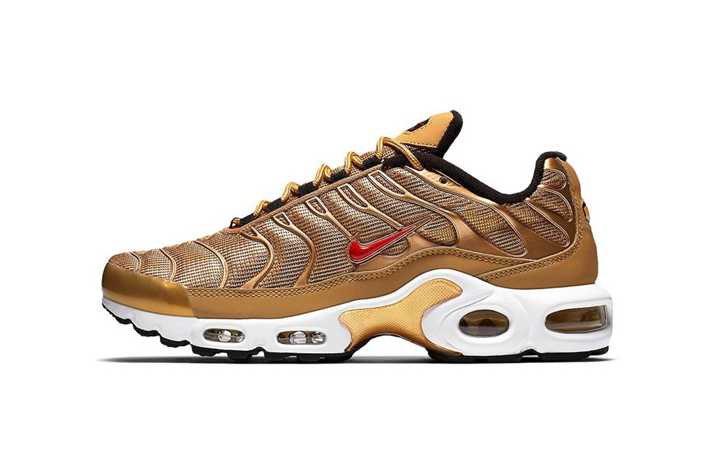 Nike's Dropping 'Metallic Gold' Air Max 97-Inspired Air Max Plus [SneakPeak] http 2F2Fhypebeast