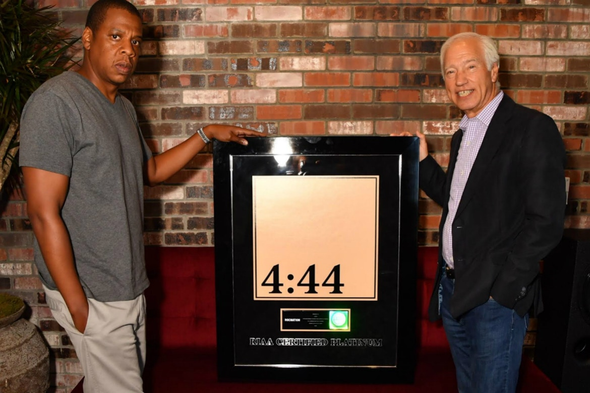 JAY-Z's '4:44' Album Just Went Platinum in a Week http 2F2Fhypebeast