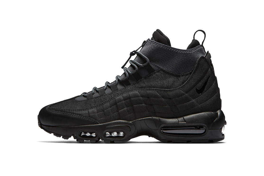 Nike's Air Max 95 'Triple Black' Sneakerboot [SneakPeak] http 2F2Fhypebeast