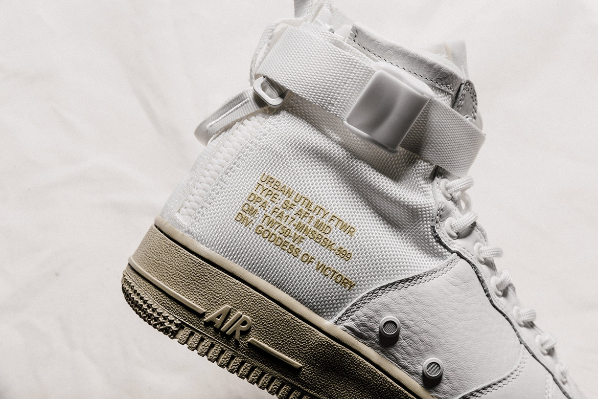 Nike 'Neutral Olive' SF-AF1 Mids Have Dropped [SneakPeak] http 2F2Fhypebeast