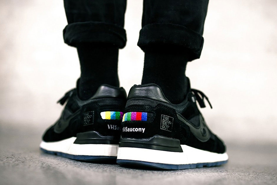 Checkout These The Good Will Out x Saucony 'VHS' Shadow 5000 Collab Sneaks [SneakPeak] http 2F2Fhypebeast