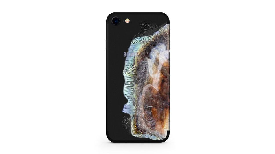 The 'EXPLO-SUNG' iPhone Case That Makes Your iPhone Look Like An Exploded Galaxy Note 7 [Hype] https 2F2Fblueprint api production