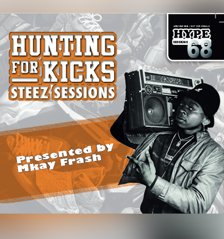 HYPE CD Vol 68 -Steez Sessions hype68