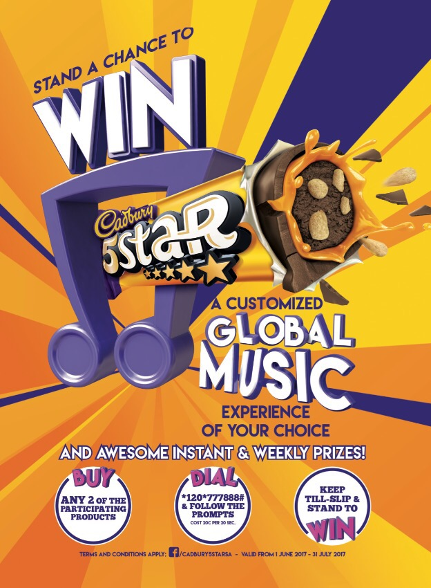 Stand a Chance to WIN! a Customised Global Music Experience with Cadbury 5Star worth R250 000 img 0373 2