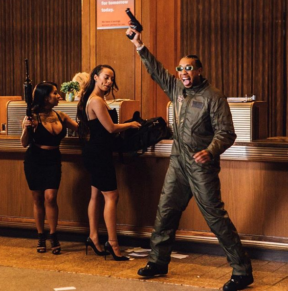 Watch Tyga Rob A Bank In New 'Ni**a Wit Money' Video j 1