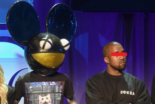 Kanye West And Deadmau5 Go At It On Twitter kanye west deadmau5 640x427 1