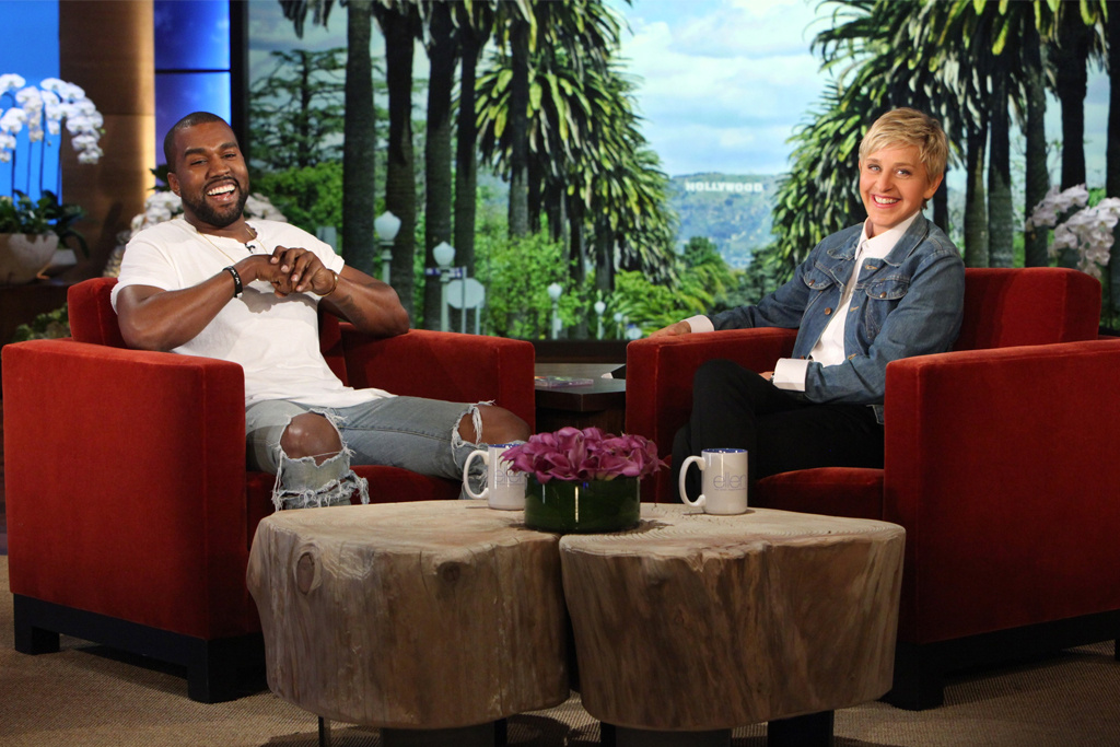 Kanye West Rants On Ellen Degeneres' Show & Leaves Audience In Silence [Watch] kanye west ellen degeneres rant 1