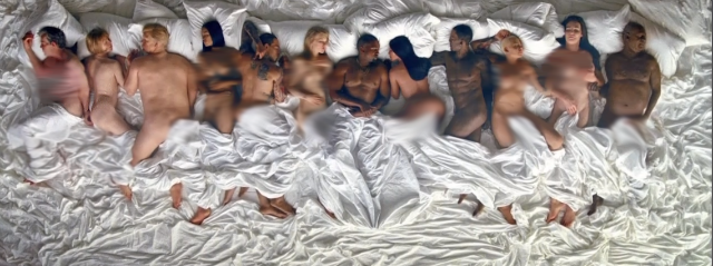 Kanye West Drops Stripped Down New 'Famous' Video [Watch] kanye west famous video 640x239