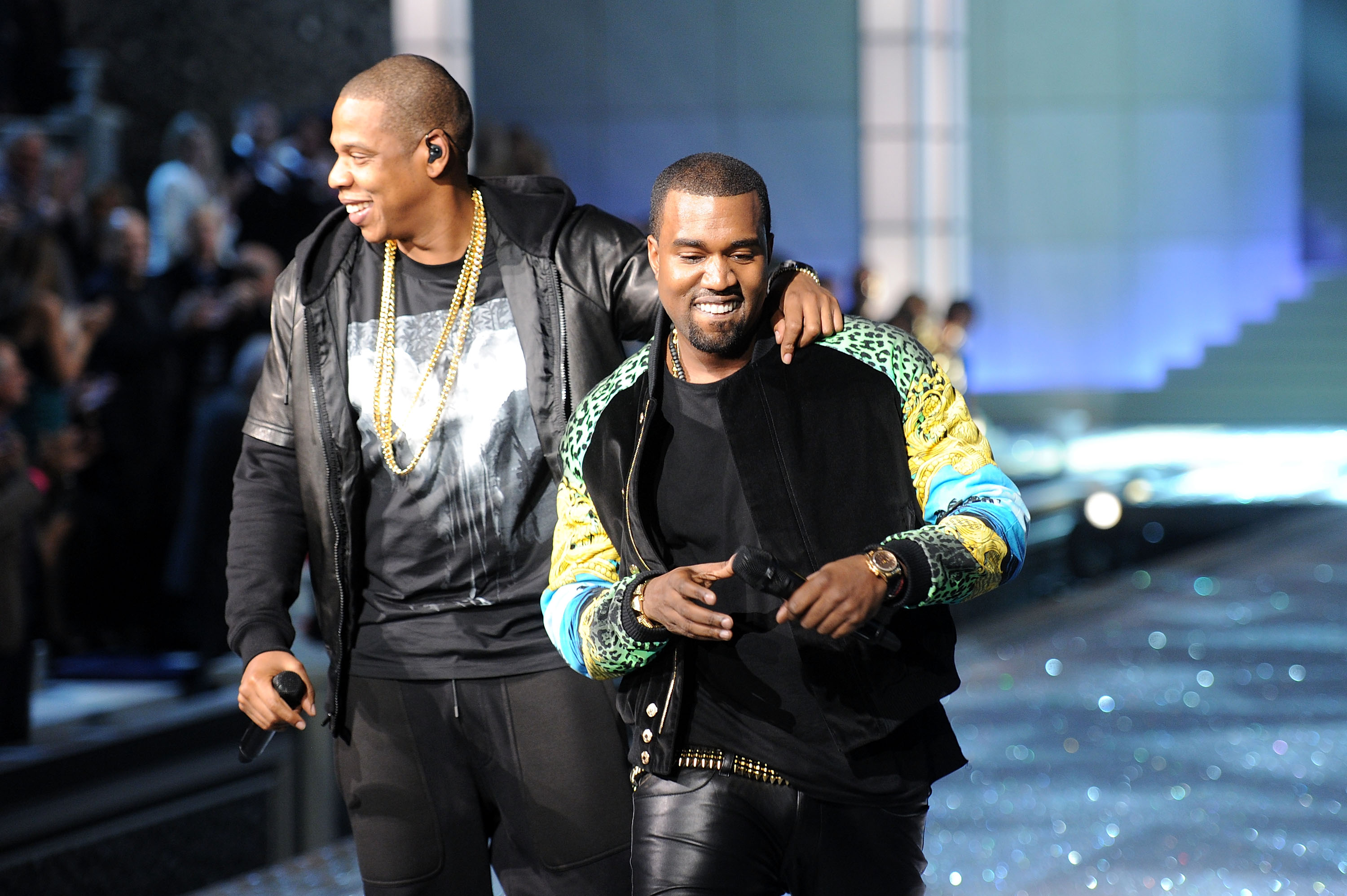 Kanye West & Jay Z Have Planned On Meeting Face-To-Face kanye west jay z 1477059685