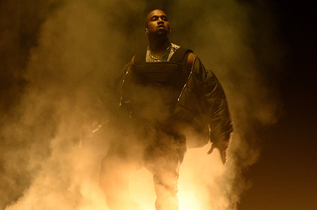 Kanye Praises Drake & Disses Nike In Brand New Song 'Facts.' Listen Here kanye west performance bbmas show 2015 billboard 650 c