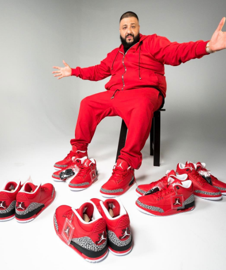 Watch DJ Khaled Talk About His New Air Jordan 3 'Grateful' Sneaks [SneakPeak] kh