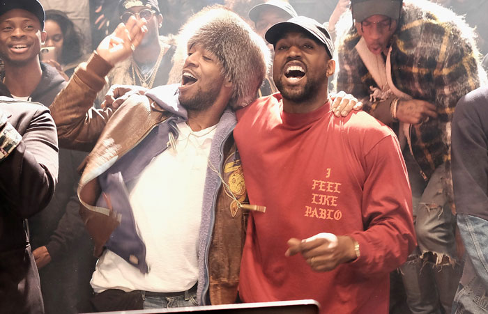 Listen to Kid Cudi' 'Too Bad I Have To Destroy You Now' Ft. Kanye West kid cudi kanye west yeezy s3