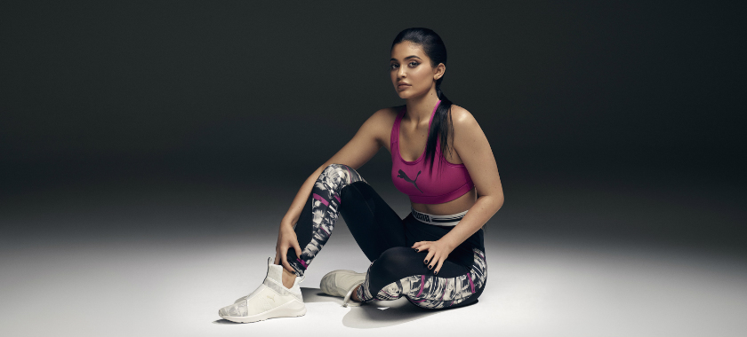 PUMA Launch Swan Pack Collection in Collaboration with NYCB & Kylie Jenner (Watch) ky