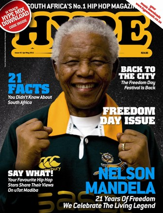 What You Didn't Know About HYPEs Historic Madiba Cover madiba1
