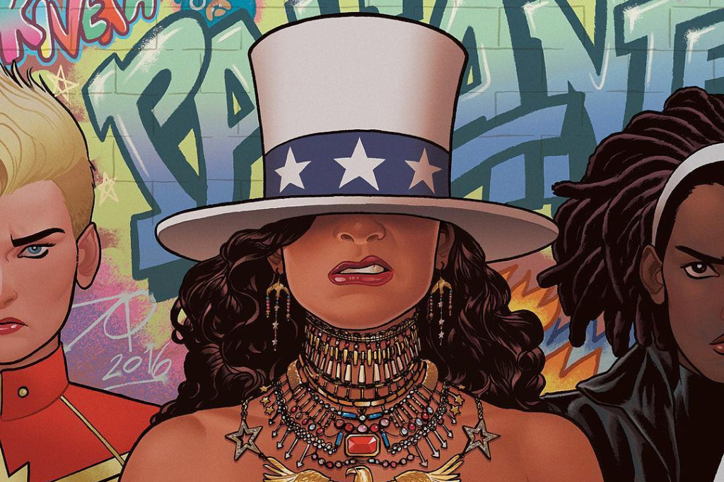 #HYPEFreshman2018 marvel beyonce formation comic book cover 879 1