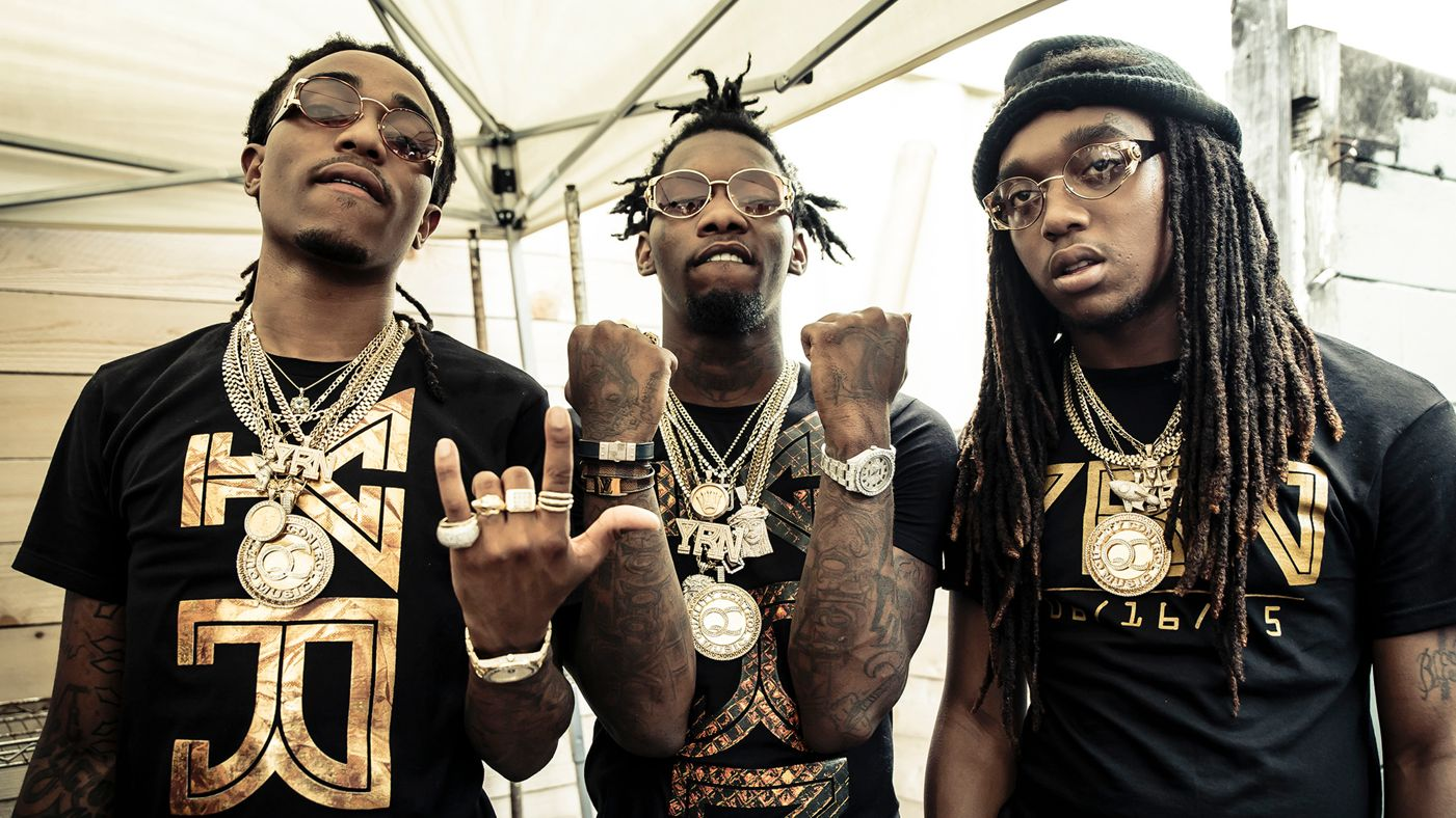 Migos Drop New 'Pull Up' Joint [Listen] migos all together