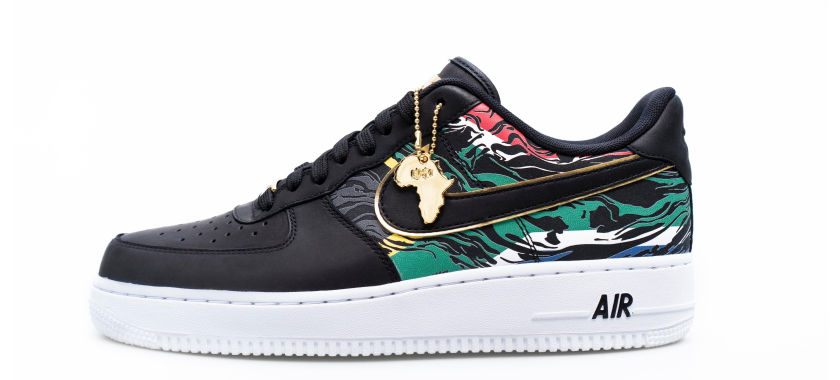 b3f6d64ee1b7 Nike Honours Young South African  8217 s with Exclusive Edition BHM Sneakers  na