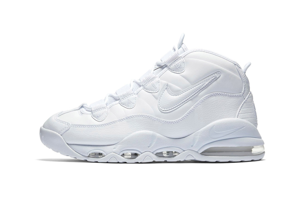 "Nike Air Max Uptempo ""Triple White"" [SneakPeak] nike air max uptempo triple white 1"