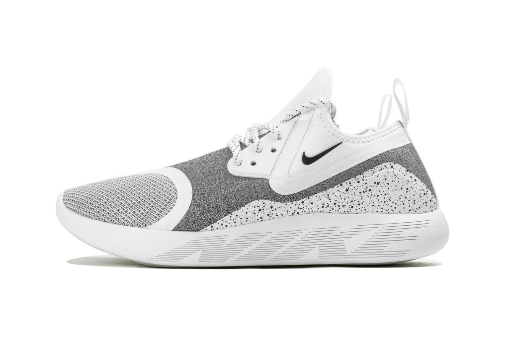 Riky Rick Drops Back To The City Booking nike lunarcharge white speckle 1