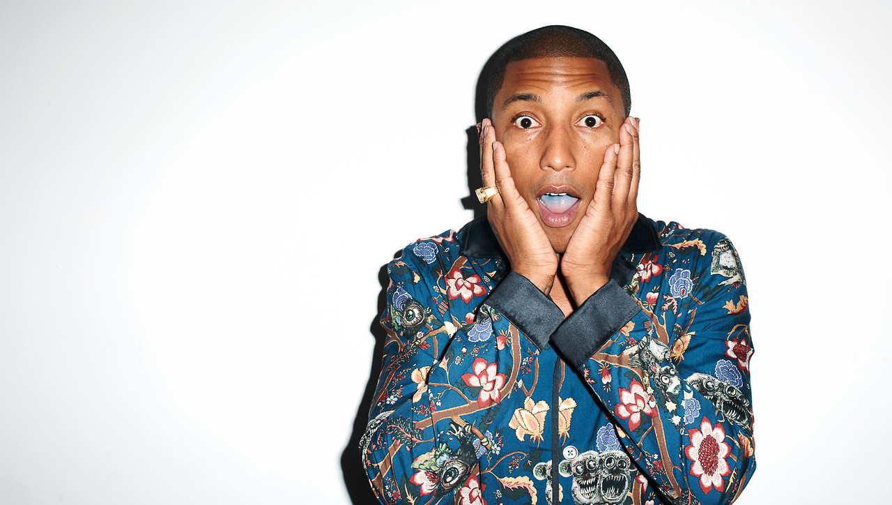 Pharrell Made a Song That Will Only Be Released In The Year 2117 pharrell surprised