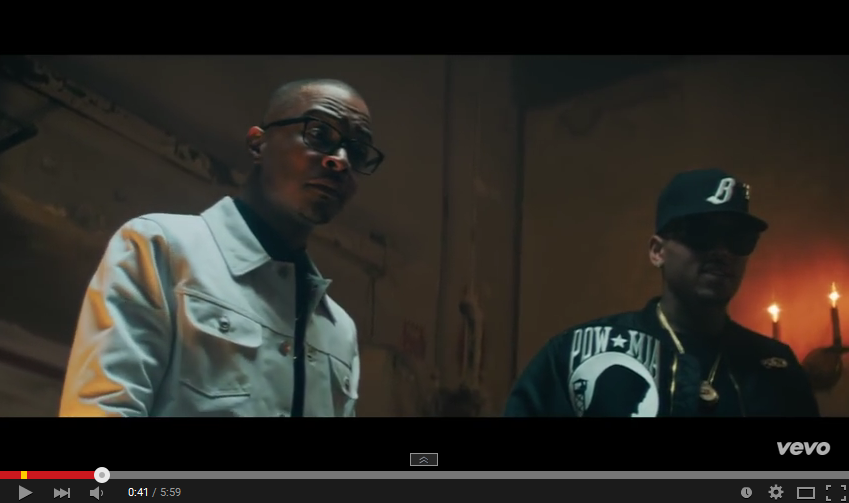 TI Drops 'Private Show' Video Ft Chris Brown private room