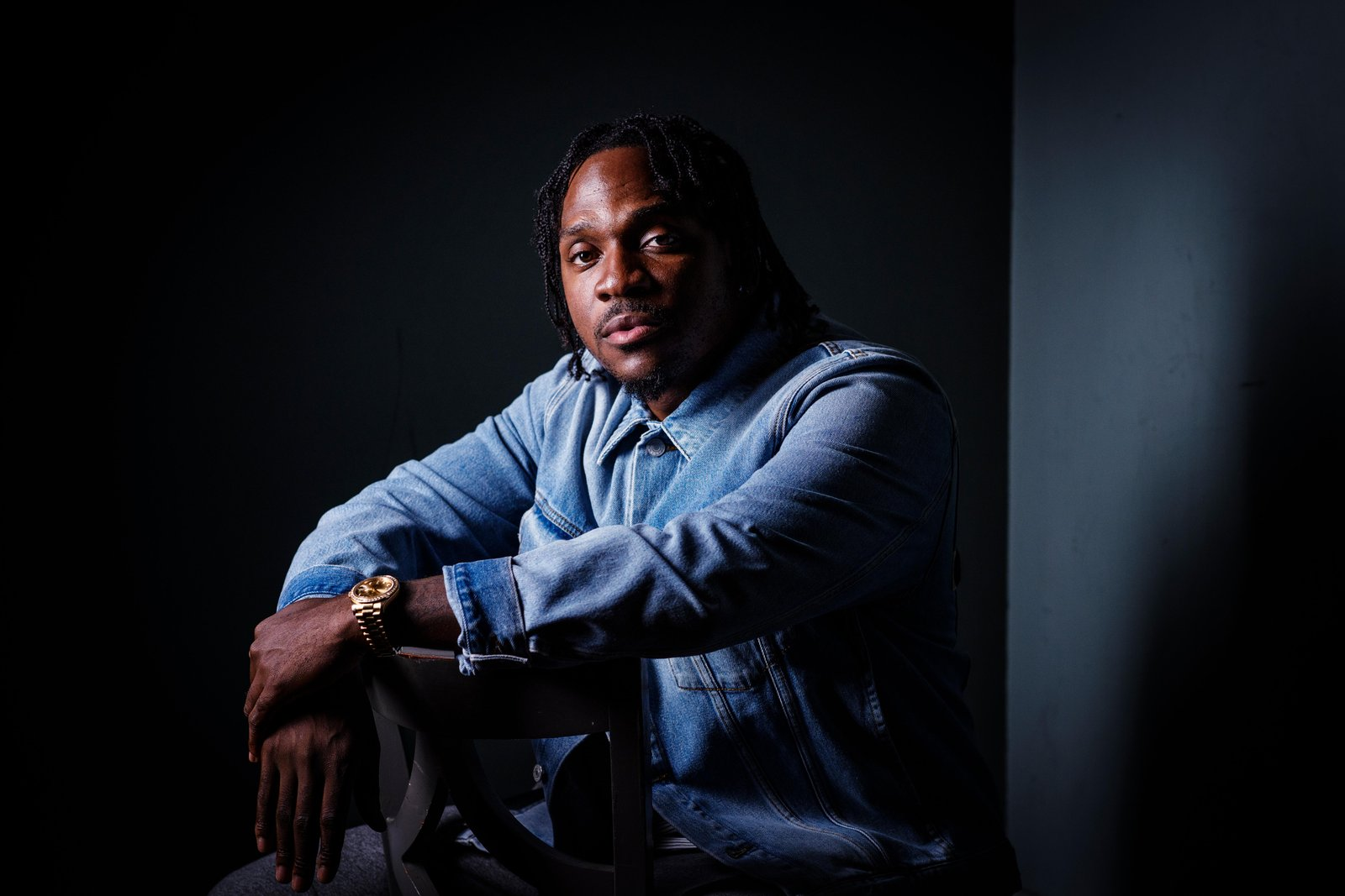 Watch Pusha T Talk About His New Album With Pharrell & Scott Vener pusha t