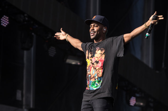 Big Sean Drops New 'Halfway Off The Balcony' Joint [Listen] rock in rio usa 2015 big sean 03 billboard 650