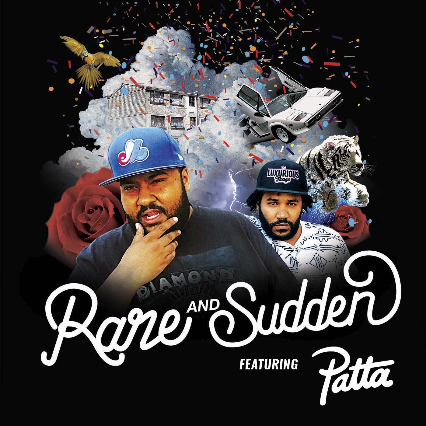 "Listen to The Rare & Sudden Podcast ""The Patta Edition"" rolo"