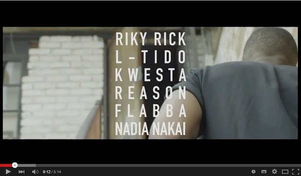 Watch the New 'Do Like I Do' Video ft. Riky, Kwesta, L-Tido, Nadia, Reason & Flabba slique