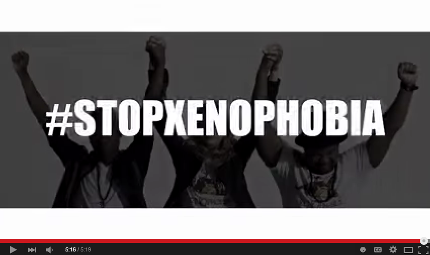 Psyfo Produces 'No More' For Xenophobia stopxenophobia