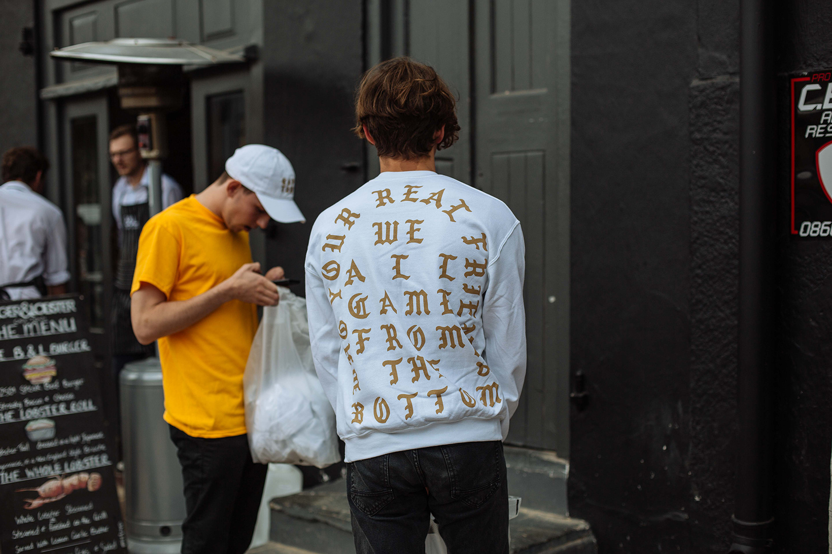 Kanye West's 'Life of Pablo' Cape Town Pop-up Store Launch the life of pablo takes over cape town 5