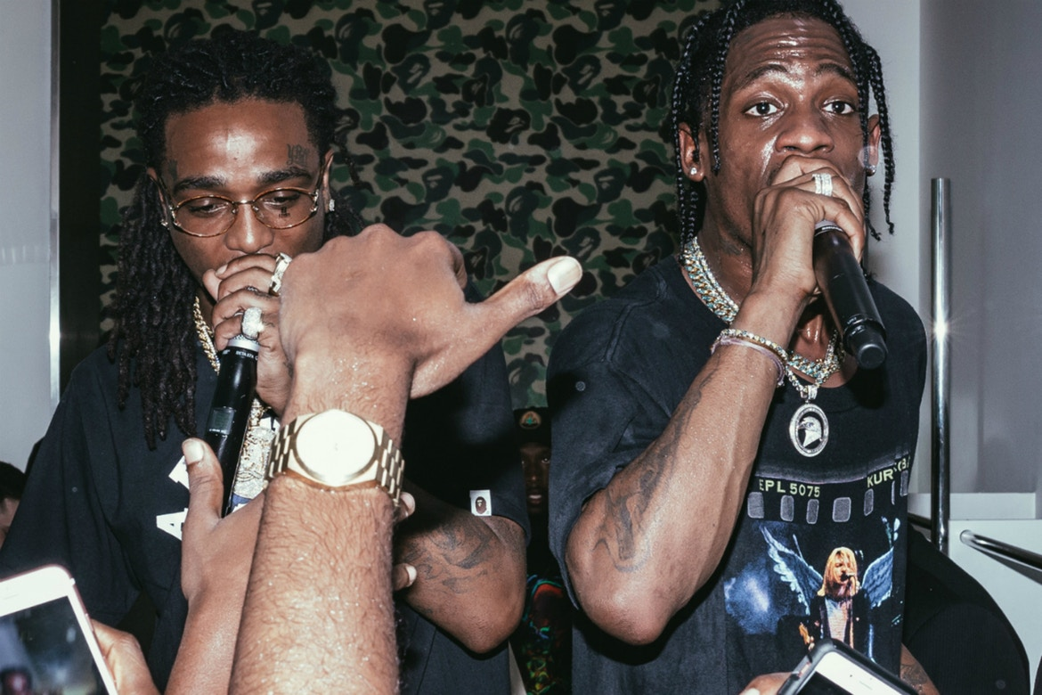 Here Is A Preview Of The New Travis Scott x Quavo Collab [Watch] travis scott quavo new