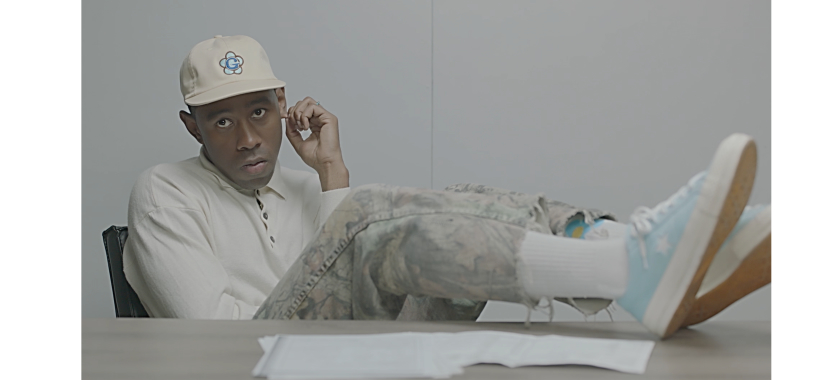 TYLER, THE CREATOR LINKS UP WITH CONVERSE ty 1