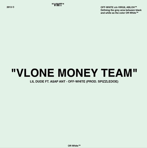 "A$AP Ant & Lil Dude Drop Virgil Abloh-Inspired ""Off-White"" Single [Listen] vlone"