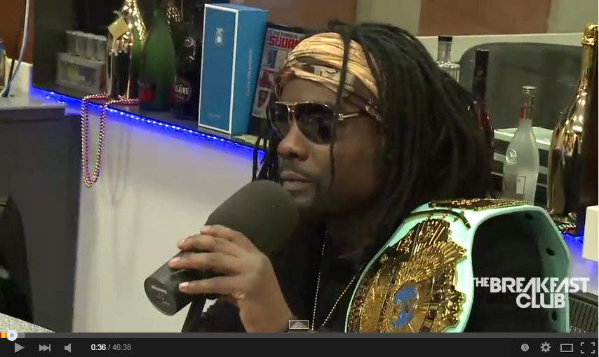 Wale Stops By The Breakfast Club wale3