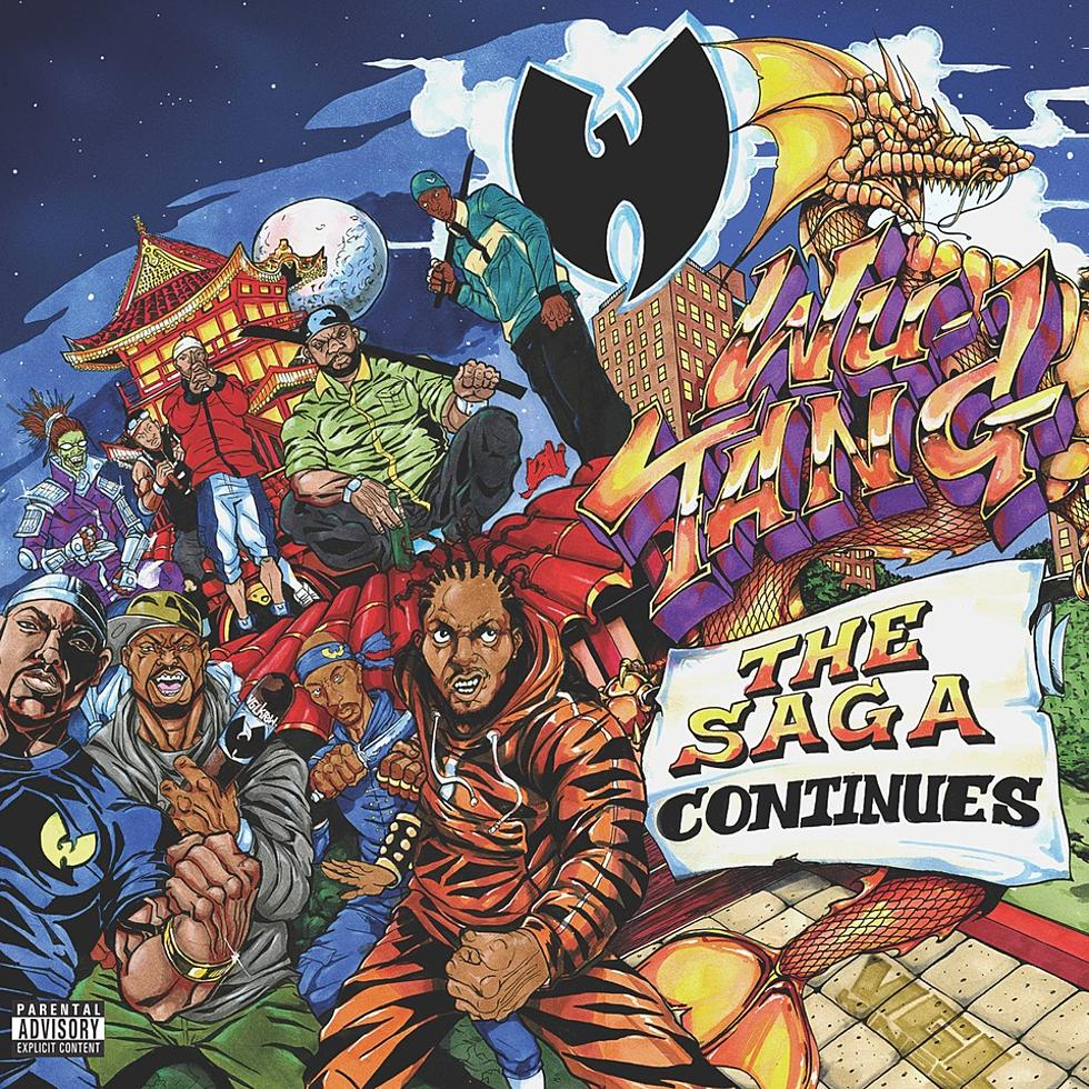 Wu-Tang Clan Drop New 'The Saga Continues' Album [Listen] wu tang the saga continues