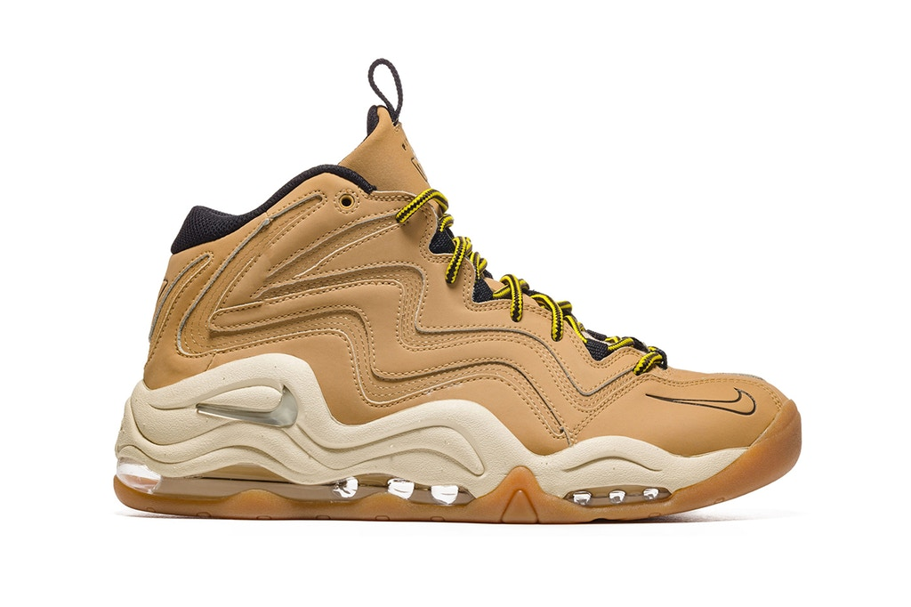 Nike Air Pippen 1 Wheat-Inspired Boot [SneakPeak] nike air pippen 1 wheat boot 1
