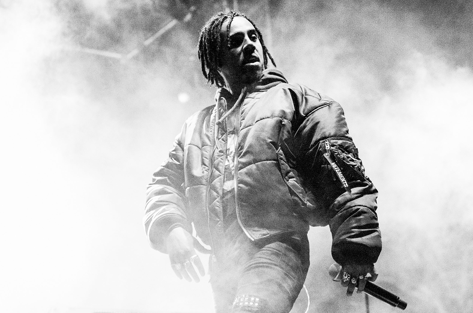 Listen To Vic Mensa's 'Diplomatic Immunity' Freestyle vic mensa performs bw 2017 billboard 1548