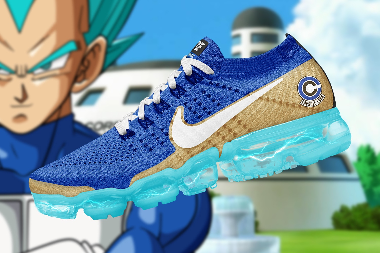 Fuerza motriz Inconsciente prima  Checkout These Ultimate 'Dragon Ball Super' x Nike Air VaporMax  Collaboration [SneakPeak] | Hype Magazine