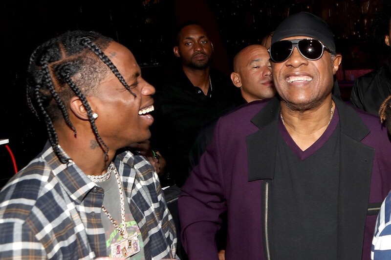 Travis Scott x Stevie Wonder Collab On The Way? img 5245