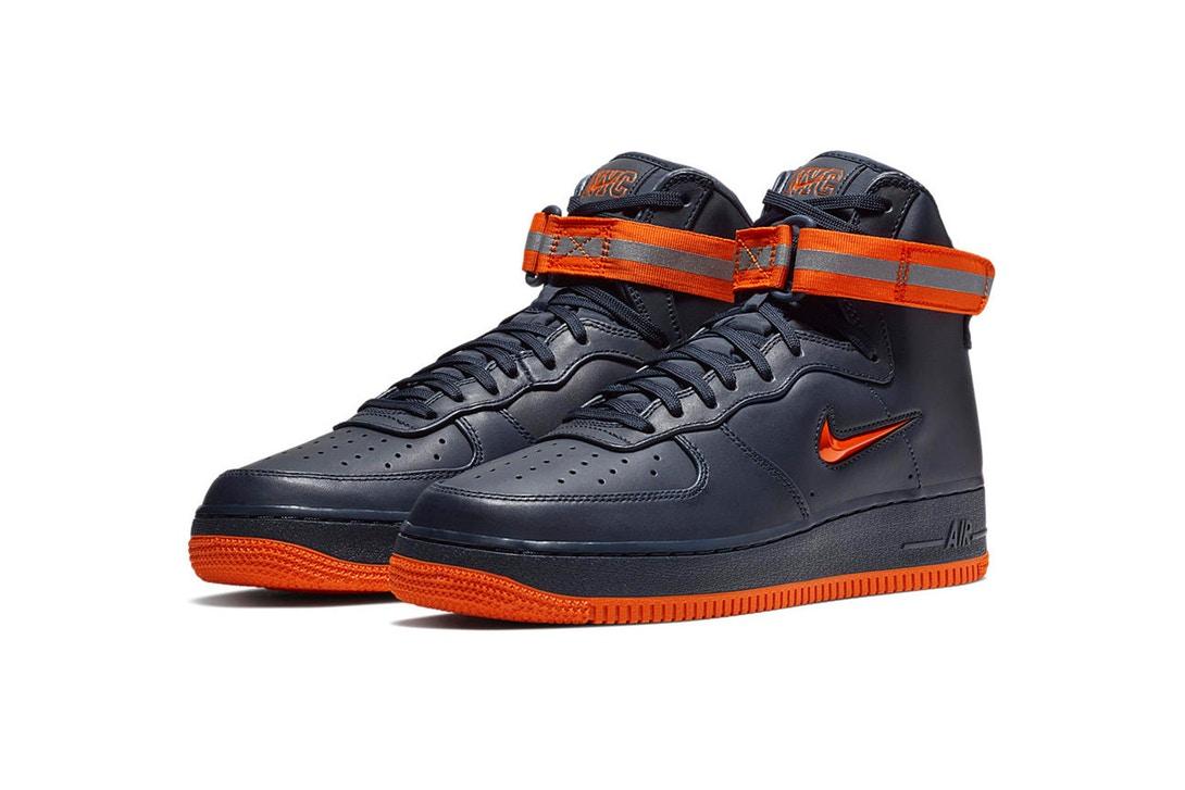 Nike 'NYC' Air Force 1 Trio [SneakPeak] nike air force 1 nyc obsidian brilliant orange 2