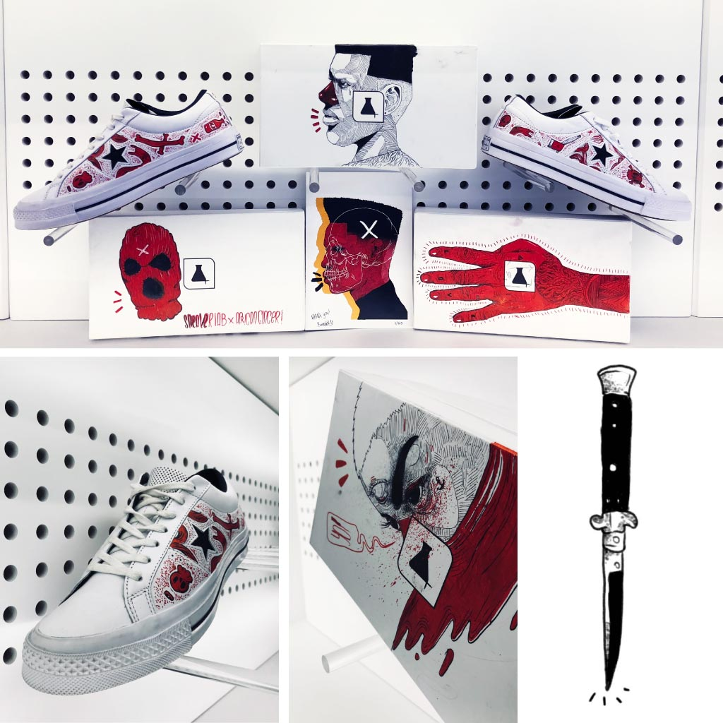 Sneaker LAB x African Ginger Artist Series 002 [Watch] AfricanGinger Body04