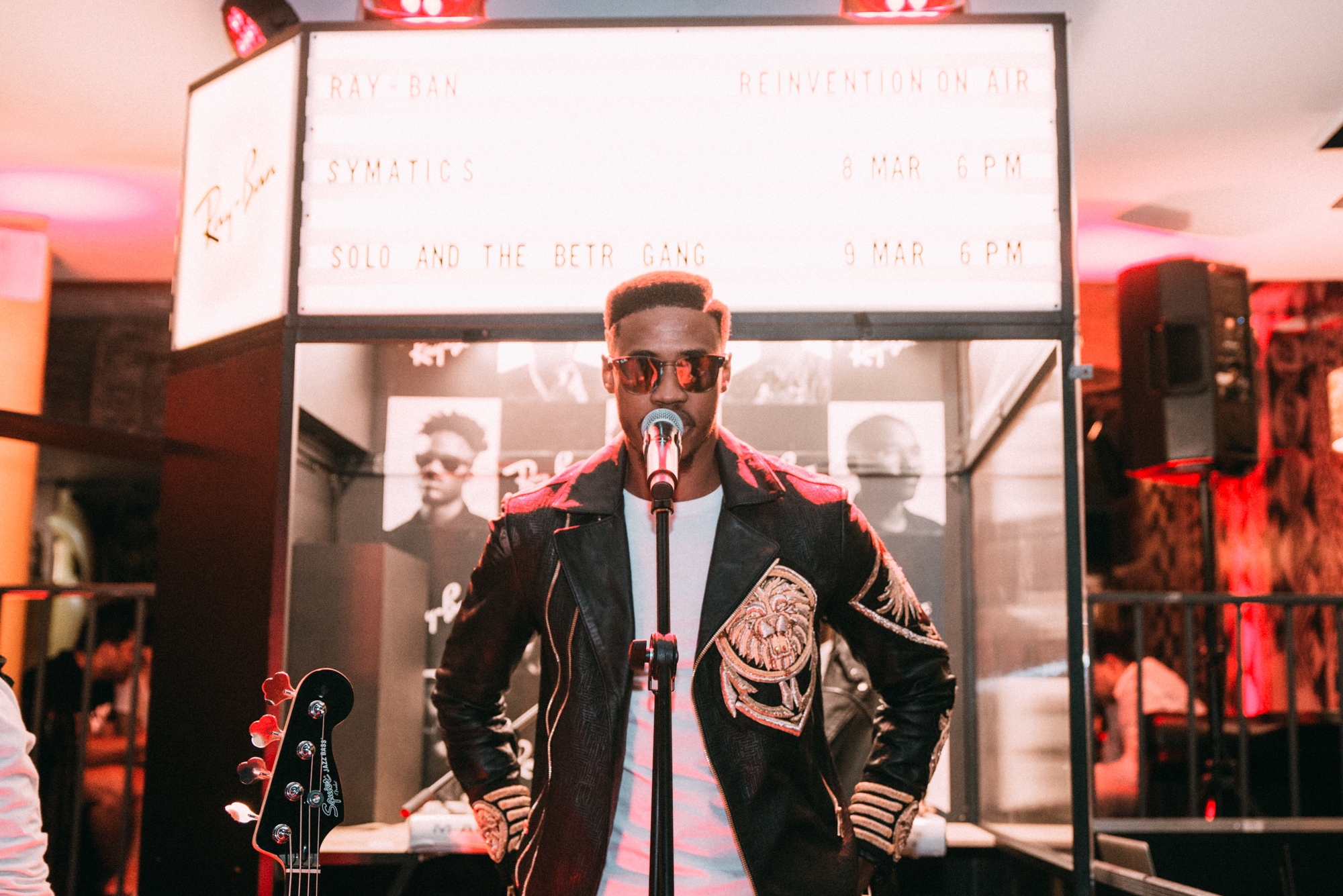 Ray-Ban Reinvention On Air | Event Round-Up Ray Ban Reinvention On Air Solo and the betr gang 14
